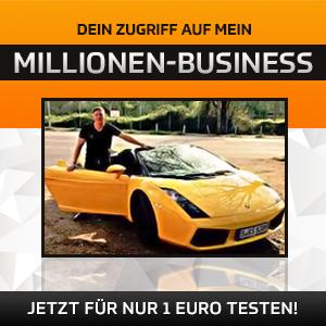 Zugriff zu meinem Millionen-Business
